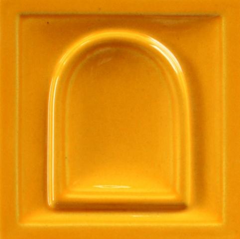 fényes narancs színű máz
