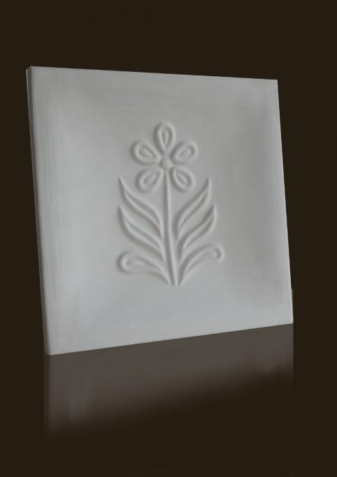 gótikus margaréta mintás csempe