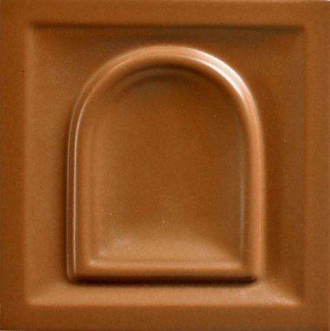 selyemmatt cappuccino színű máz
