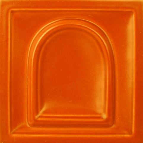 selyemmatt mandarin színű máz