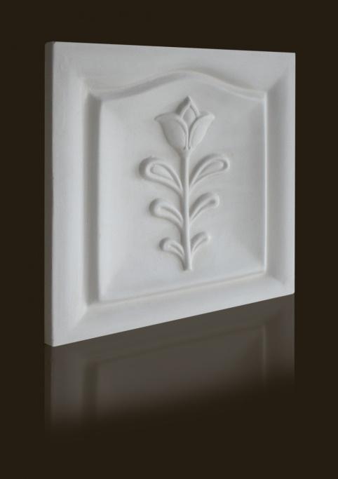 barokk tulipán mintás csempe