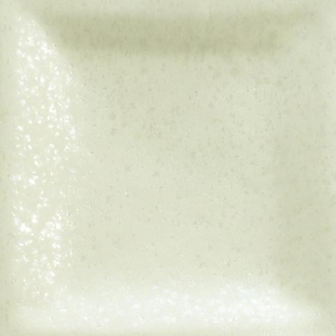 üvegszemcsés gyöngyfehér színű máz
